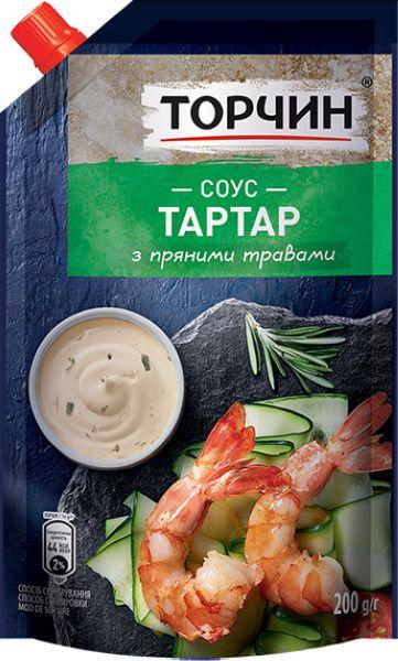 Соус Тартар ТМ Торчин д/п 0,200 кг