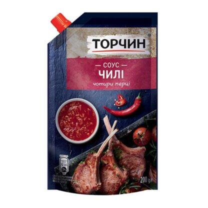 Соус Чилі ТМ Торчин д/п 0,200 кг