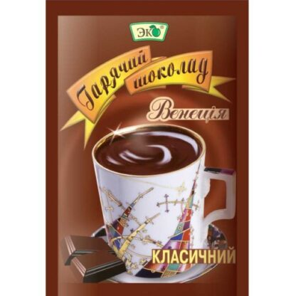 Гарячий шоколад ТМ Еко, 0,025 кг