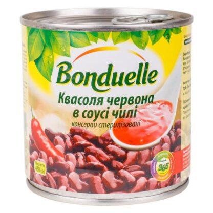 Квасоля червона в соусі Чілі ТМ Bonduelle ж/б 0,430 кг