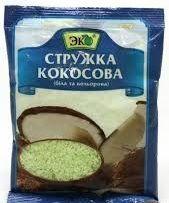 Кокосова крихта біла ТМ Еко фас. 0,040 кг