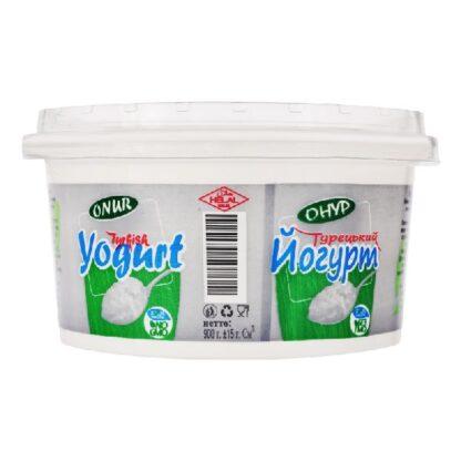 Йогурт ОНУР Турецький 0,900 кг, пак
