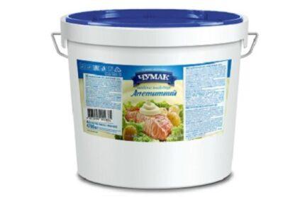 Майонезний соус Апетитний ТМ ЧУМАК відро 4,700 кг