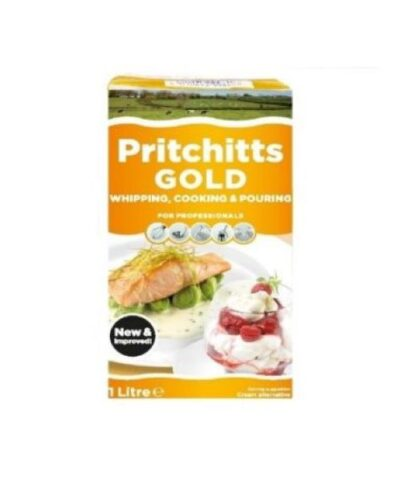 Вершки кулінарні Pritchitts Gold 34% 1л, пак