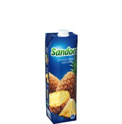 Сік Sandora ананас 0,950 л, пак