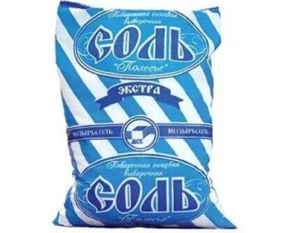 Сіль екстра Полісся 1 кг