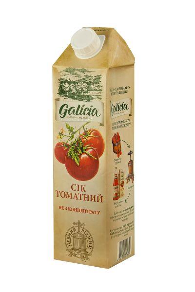 Сік Галіція томатний TGA 1 л