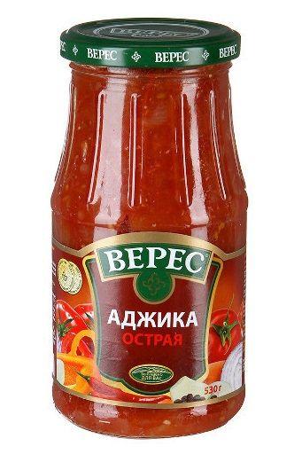 Аджика Гостра ТМ Верес с/б 0,500 кг
