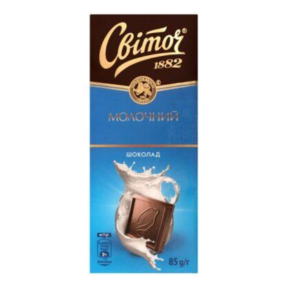 Шоколад молочний ТМ СВІТОЧ, 85 г