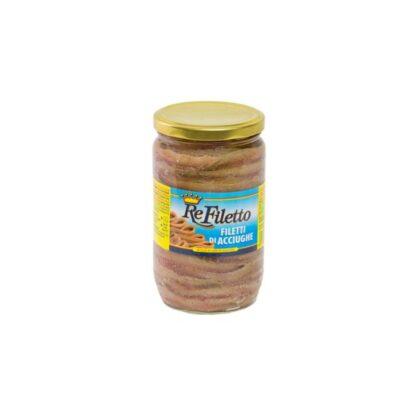 Філе анчоуса в олії 0,72 кг, шт