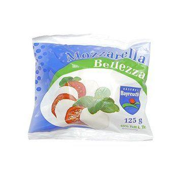 Сир Моцарелла ТМ Belezza 0,125кг, пак