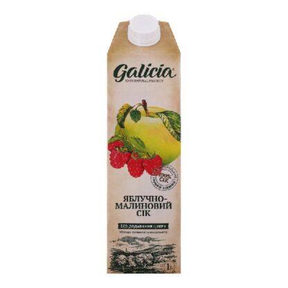 Сік Галіція яблучно-малиновий TGA 1 л