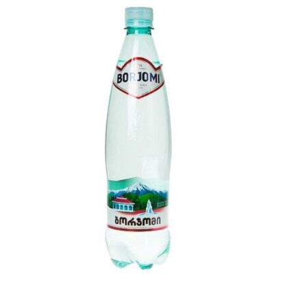 Вода мінеральна Borjomi сильногазована лікувально-столова ПЕТ 0.500 л., пак