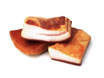 Свинне сало П'ЯТАЧОК Закарпатське копчено-запечене 1с в/у 0.500 кг, кг