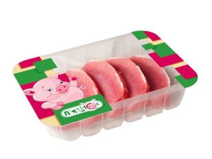 Свинний ескалоп П'ЯТАЧОК з корейки без кістки охолоджений лоток 0.650 кг, кг