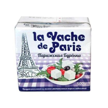 Сирний продукт Паризька Бурьонка розсольний 0.500 кг, пак
